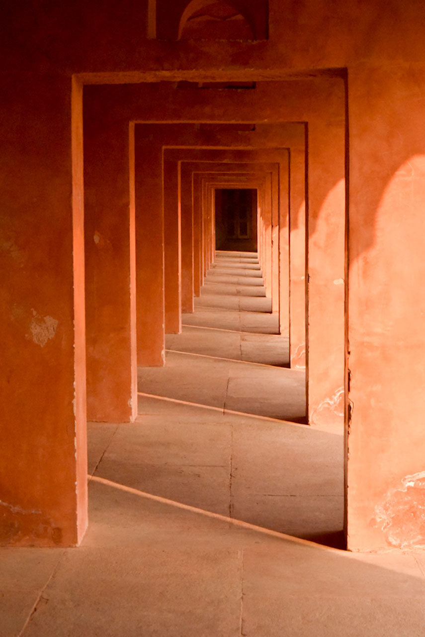 terracotta tunnel architecture